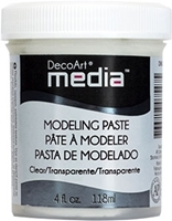 Εικόνα του DecoArt Media Modeling Paste Clear
