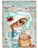 Εικόνα του Sherri Baldy My Besties Christmas Holiday Coloring Book