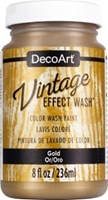 Εικόνα του DecoArt Vintage Effect Wash - Gold