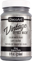 Picture of DecoArt Vintage Effect Wash - Silver