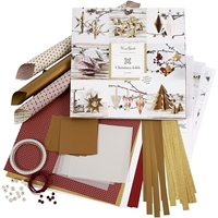 Εικόνα του Braiding & Folding Kit Vivi Gade - Gold, Red, Copenhagen