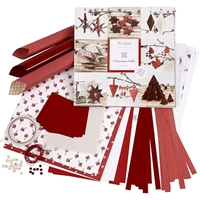 Εικόνα του Braiding & Folding Kit Vivi Gade  - Red, White, Copenhagen