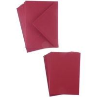 Εικόνα του Sweet Dixie Card and Envelope Packs A6 - Christmas Red