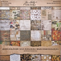 Picture of Tim Holtz  Idea-ology Paper Stash 8X8 - Collage