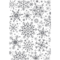 Picture of Clear Stamp - Fractal Snowflakes