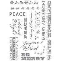 Picture of Clear Stamp Set - Winter Wonderland