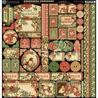 "Picture of Winter Wonderland Cardstock Stickers 12""X12"""
