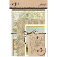 Picture of Art-C Ephemera Book Pages  - Travel