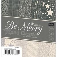 """Εικόνα του Be Merry And Classic Paper Pad 6""""X6"""""""