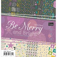 "Εικόνα του Be Merry And Bright Paper Pad 12""X12"""