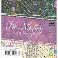 """Εικόνα του Be Merry And Bright Paper Pad 6""""X6"""""""