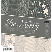 """Εικόνα του Be Merry And Classic Paper Pad 12""""X12"""""""