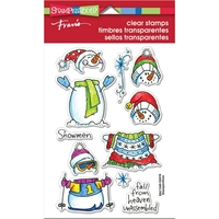 Εικόνα του Stampendous Perfectly Clear Stamps - Winter Stack
