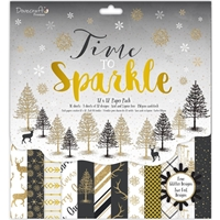 "Εικόνα του Dovecraft 12""X12"" Paper Pack - Time To Sparkle"