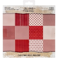 "Εικόνα του Idea-Ology Kraft Stock Cardstock Pad 8""X8""  - Christmas"