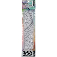 """Picture of Dylusions Clear Stamp & Stencil Set 9"""" - Cobweb"""