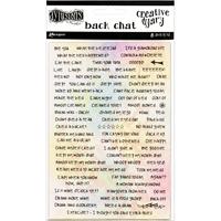 Εικόνα του Dyan Reaveley's Dylusions Creative Dyary Back Chat Stickers
