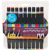Picture of Pro Art Graphic Markers 18/Pkg