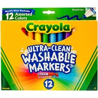 Picture of Crayola Broad Line Washable Markers