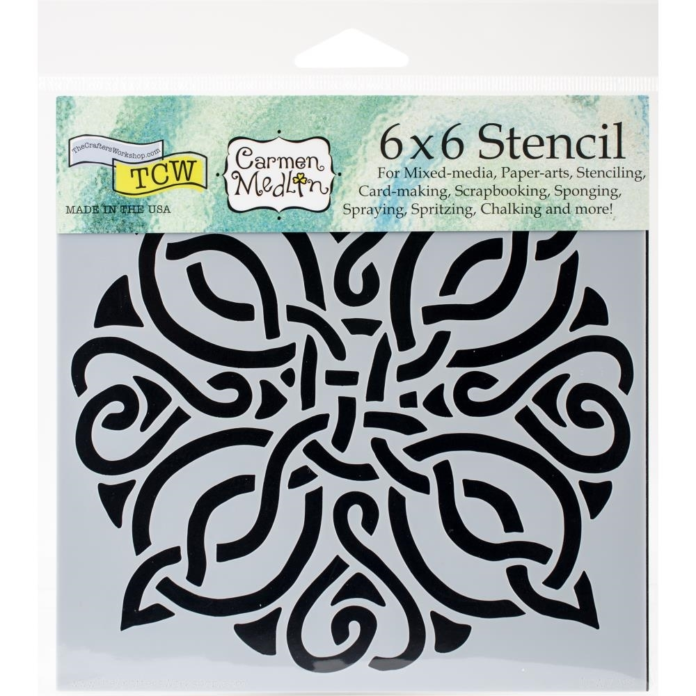 Crafters Workshop Template 15x15 Celtic Knot Scrapsnpieces