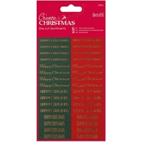 Picture of Papermania Create Christmas Sentiments Die Cuts - Happy Christmas