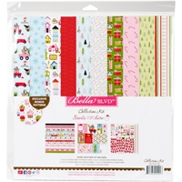 "Picture of Bella Blvd Collection Kit 12""X12"" - Santa Stops Here"