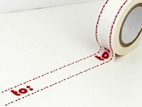 Εικόνα του Dovecraft Christmas Washi Tape - To: