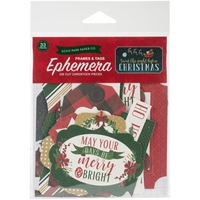 Εικόνα του Twas The Night Before Christmas Ephemera Cardstock Die-Cuts - Frames & Tags