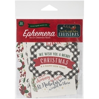 Picture of Twas The Night Before Christmas Ephemera Cardstock Die-Cuts - Icons