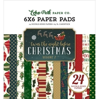 """Picture of Twas The Night Before Christmas Paper Pad 6""""X6""""  - Vol. 2"""