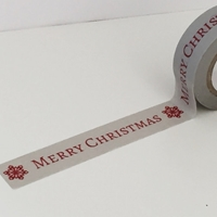 Picture of Dovecraft Christmas Washi Tape - Merry Christmas