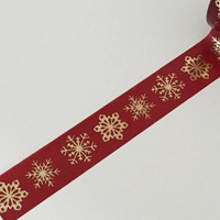 Picture of Dovecraft Christmas Washi Tape - Snowflakes