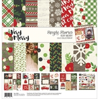 "Εικόνα του Simple Stories Collection Kit 12""X12"" - Very Merry"
