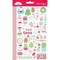 Εικόνα του Doodlebug Mini Cardstock Stickers - Milk & Cookies