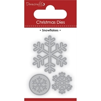 Picture of Dovecraft Christmas Dies - Snowflakes
