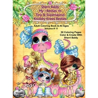 Εικόνα του Sherri Baldy My Besties Coloring Book - Tiny & Supersaurus Knobby Knees