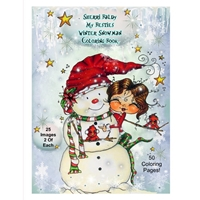 Εικόνα του Sherri Baldy My Besties Coloring Book - Winter Snowman