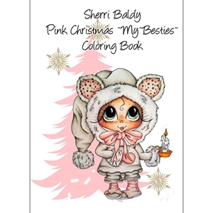 Picture of Sherri Baldy My Besties Coloring Book - Pink Christmas
