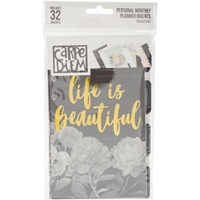 Picture of Carpe Diem Beautiful Double-Sided Personal Planner Inserts