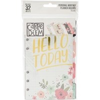 Picture of Carpe Diem Bloom Double-Sided Personal Planner Inserts