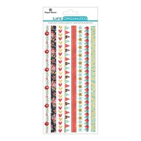 Picture of Paper House Life Organized Rice Paper Border Stickers - Everyday Moments
