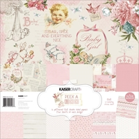 "Εικόνα του Kaisercraft Paper Pack 12""X12"" - Peek-A-Boo Girl"