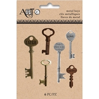 Εικόνα του Art-C Metal Antique Keys