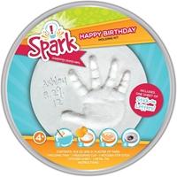 Εικόνα του Spark Happy Birthday Round Plaster Tin