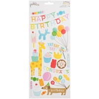 "Εικόνα του Happy Hooray Cardstock Stickers 5.5""X11"""