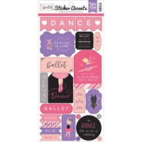 "Εικόνα του Echo Park - Ballet Stickers 6""X13"""
