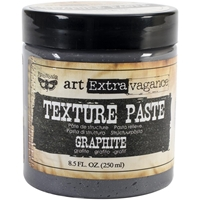 Picture of Finnabair Art Extravagance Texture Paste 8.5oz - Graphite