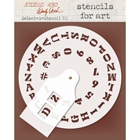 Εικόνα του Wendy Vecchi Select-A-Stencil - Uppercase