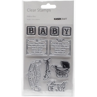 """Εικόνα του Kaisercraft Clear Stamps 6""""X4"""" - Peek-A-Boo"""
