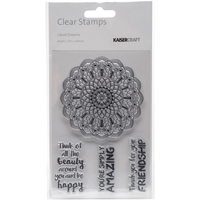 """Picture of Kaisercraft Clear Stamps 6""""X4"""" - Ubud Dreams"""